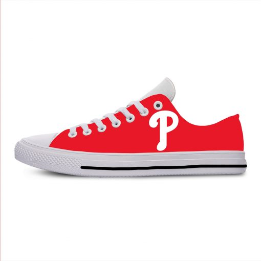 2019 New Arrival Professional Baseball Teams Breathable Casual Shoes Philadelphia Phillies Women men Lightweight Shoes 3