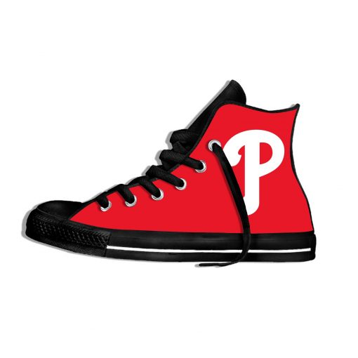 2019 New Arrival Professional Baseball Teams Breathable Casual Shoes Philadelphia Phillies Women men Lightweight Sneakers 1