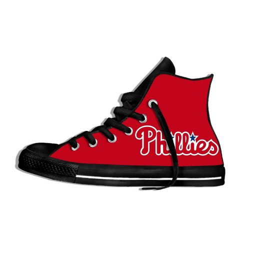 2019 New Arrival Professional Baseball Teams Breathable Casual Shoes Philadelphia Phillies Women men Lightweight Sneakers