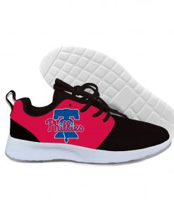 2019 New Arrival Women men Professional Baseball Teams Breathable Casual Shoes Phillies Philadelphia Lightweight Shoes 1