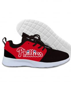 2019 New Arrival Women men Professional Baseball Teams Breathable Casual Shoes Phillies Philadelphia Lightweight Shoes