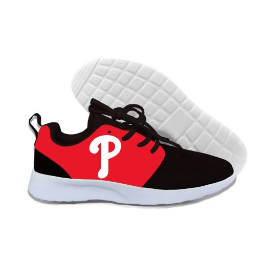 2019 New Arrival Women men Professional Baseball Teams Breathable Casual Shoes Phillies Philadelphia Lightweight Shoes 3