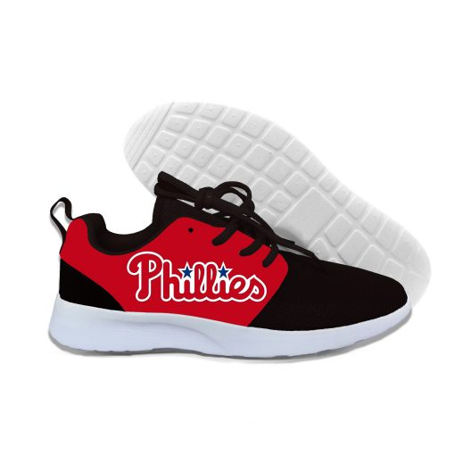 2019 New Arrival Women men Professional Baseball Teams Breathable Casual Shoes Phillies Philadelphia Lightweight Shoes 5