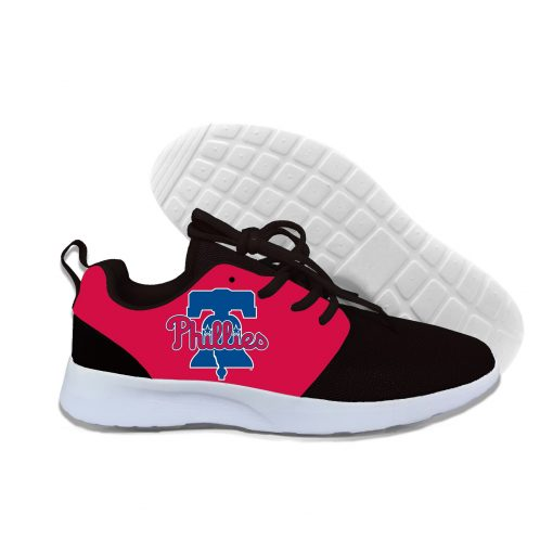 2019 New Arrival Women men Professional Baseball Teams Breathable Casual Shoes Phillies Philadelphia Lightweight Shoes 6