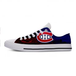 2019 New Creative Design For Ice Hocky High Top Custom Shoes Montreal Canadien shoes Flat Casual 1