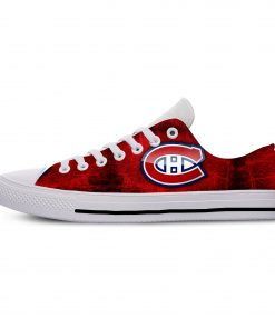 2019 New Creative Design For Ice Hocky High Top Custom Shoes Montreal Canadien shoes Flat Casual 2