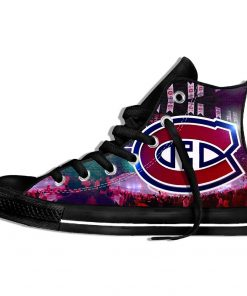 2019 New Creative Design For Ice Hocky High Top Custom Shoes Montreal Canadien shoes Flat Casual 6