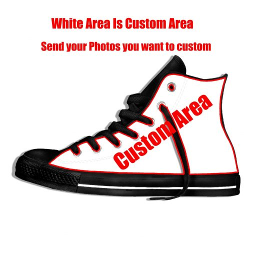 2019 New Creative Design For Ice Hocky High Top Custom Shoes Montreal Canadien shoes Flat Casual 9