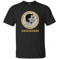 2019 New Fashion Brand Clothing Tee Caucasiaus Caucasians Redskins Funny T Shirt