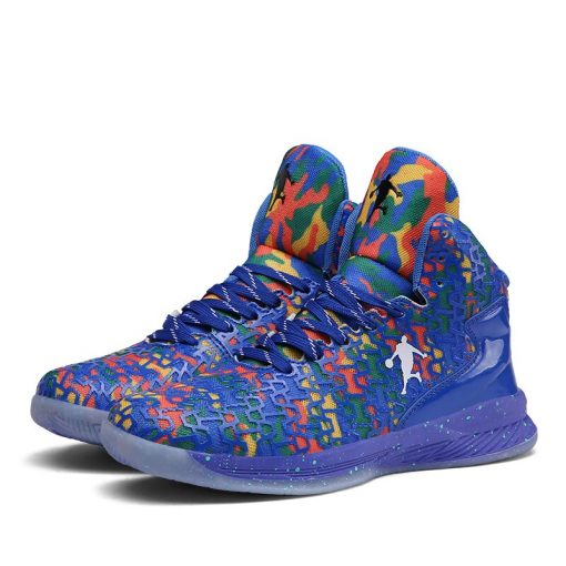 2019 New Fashion Men High top Jordan Basketball Shoes Men s Cushion Light Basketball Sneakers Anti 1