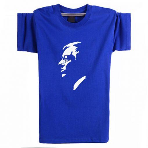 2019 New Ferguson United Kingdom Black T Shirts Men Fitness Tees Manchester Shirts Camisetas Hombre portrait 1