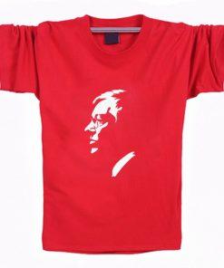 2019 New Ferguson United Kingdom Black T Shirts Men Fitness Tees Manchester Shirts Camisetas Hombre portrait 2
