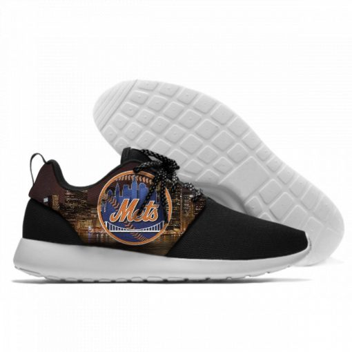 2019 New Men Women Mets Fashion Sneakers Comfortable Shoes New York Lace Up Unisex Casual Shoes 2