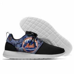 2019 New Men Women Mets Fashion Sneakers Comfortable Shoes New York Lace Up Unisex Casual Shoes