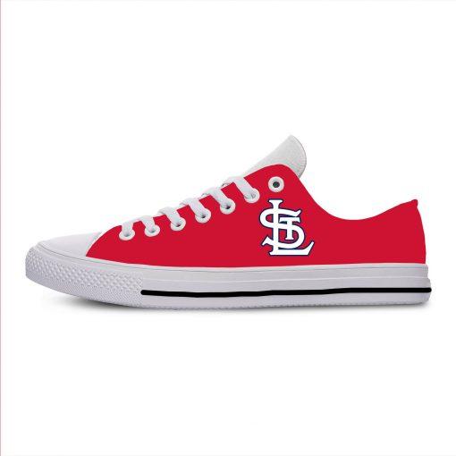 2019 New National Baseball League St Louis Cardinals Walking Breathable Shoes New Arrive Casual Men Women 1