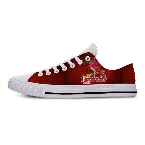 2019 New National Baseball League St Louis Cardinals Walking Breathable Shoes New Arrive Casual Men Women 2