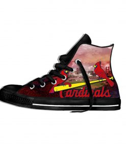 2019 New National Baseball League St Louis Cardinals Walking Breathable Shoes New Arrive Men Women Lightweight 3