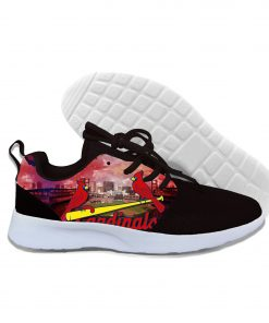 2019 New National Baseball League Walking Breathable Shoes St Louis Cardinals New Arrive Casual Men Women 1