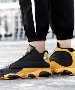 2019 New Style Breathable Basketball Shoes Mens Boys High Top Shockproof Sneakers Non slip Jordan Basket 1