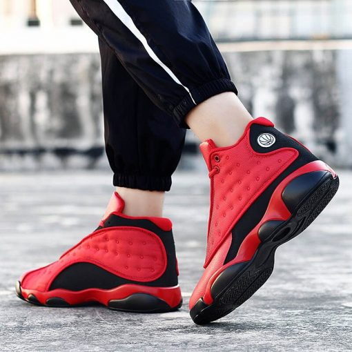 2019 New Style Breathable Basketball Shoes Mens Boys High Top Shockproof Sneakers Non slip Jordan Basket 3