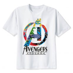 2019 Neweset Avengers Endgame T Shirt Men women Ironman Captain America End Game Marvel T shirt