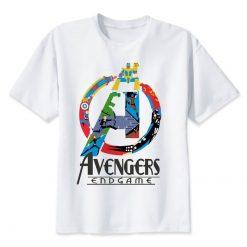 2019 Neweset Avengers Endgame T Shirt Men women Ironman Captain America End Game Marvel T shirt