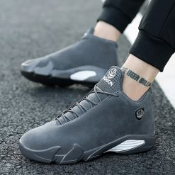 2019 Newest Men s Basketball Shoes Air Sole Breathable Sneakers Black Gray Cool Gym Shoes Zapatos 1