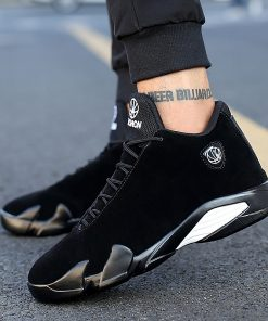 2019 Newest Men s Basketball Shoes Air Sole Breathable Sneakers Black Gray Cool Gym Shoes Zapatos 2