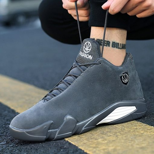 2019 Newest Men s Basketball Shoes Air Sole Breathable Sneakers Black Gray Cool Gym Shoes Zapatos