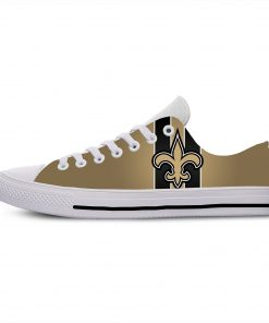 2019 Novelty Design Casual Walking Shoes Football New Orleans NOS Summer Comfortable Breathable Shoes Lightweight Shoes