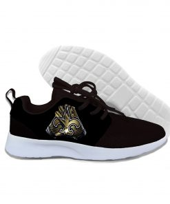 2019 Novelty Design Walking Shoes Football New Orleans NOS Summer Lightweight Casual Comfortable Breathable Shoes 3