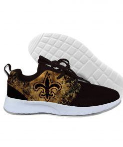 2019 Novelty Design Walking Shoes Football New Orleans NOS Summer Lightweight Casual Comfortable Breathable Shoes 4