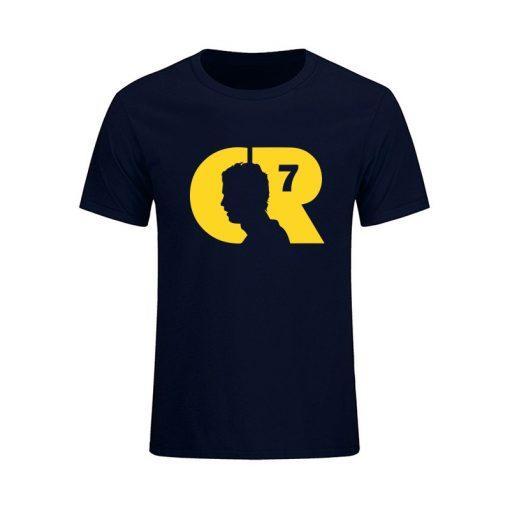 2019 Summer CR 7 World Cup Cristiano Ronaldo Men s T Shirt CR7 Custom T Shirts 2