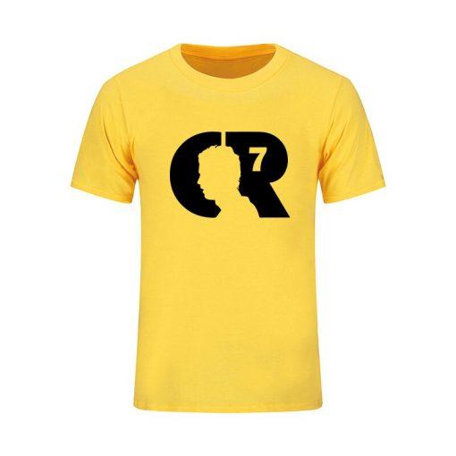 2019 Summer CR 7 World Cup Cristiano Ronaldo Men s T Shirt CR7 Custom T Shirts 4