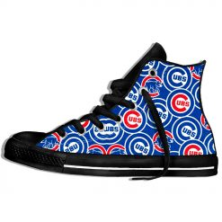 2019 Summer Cool Women Chicago Comfortable Shoes Cubs Classic Unisex Track Shoes Casual Shoes High Top 1