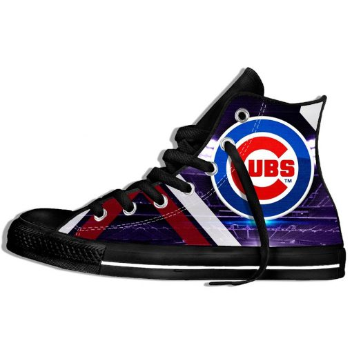 2019 Summer Cool Women Chicago Comfortable Shoes Cubs Classic Unisex Track Shoes Casual Shoes High Top 2