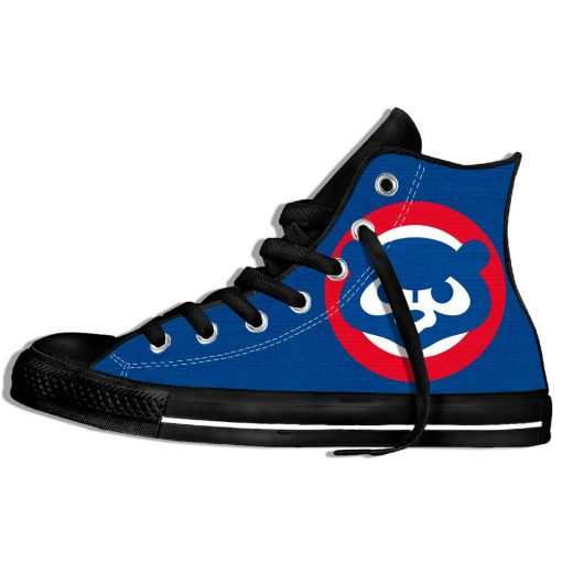2019 Summer Cool Women Chicago Comfortable Shoes Cubs Classic Unisex Track Shoes Casual Shoes High Top 3