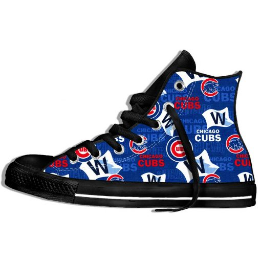 2019 Summer Cool Women Chicago Comfortable Shoes Cubs Classic Unisex Track Shoes Casual Shoes High Top 4