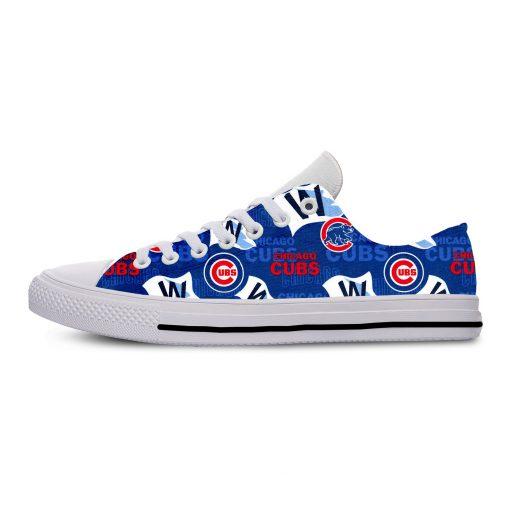 2019 Summer Cool Women Chicago Comfortable Shoes Cubs Classic Unisex Track Shoes Casual Shoes Walking Sneakers 1