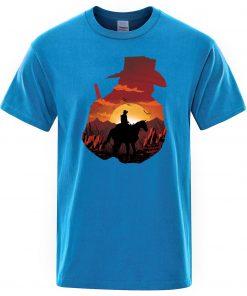 2019 Summer Cotton T shirt Men The Walking Dead T Shirts Male Hot TV Show Mens 1