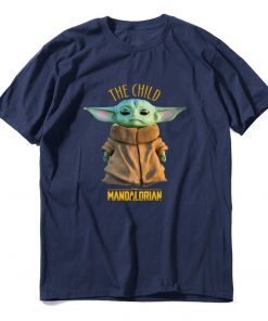 2019 Unisex Hot Sale Short Shirt Lovely Yoda Baby T shirt Mandalorian Star Wars Fan Gift 3