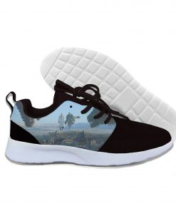 2019 hot fashion Game of Thrones 3D casual shoes for men women high quality Harajuku 3D 4