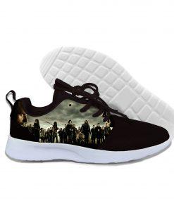 2019 hot fashion Walking Dead 3D casual shoes for men women high quality Harajuku 3D printing 1