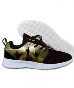 2019 hot fashion Walking Dead 3D casual shoes for men women high quality Harajuku 3D printing 2