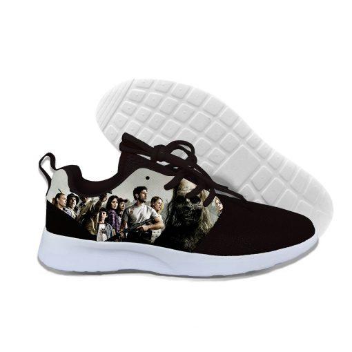 2019 hot fashion Walking Dead 3D casual shoes for men women high quality Harajuku 3D printing 3