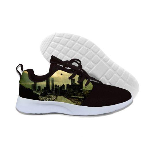 2019 hot fashion Walking Dead 3D casual shoes for men women high quality Harajuku 3D printing 4