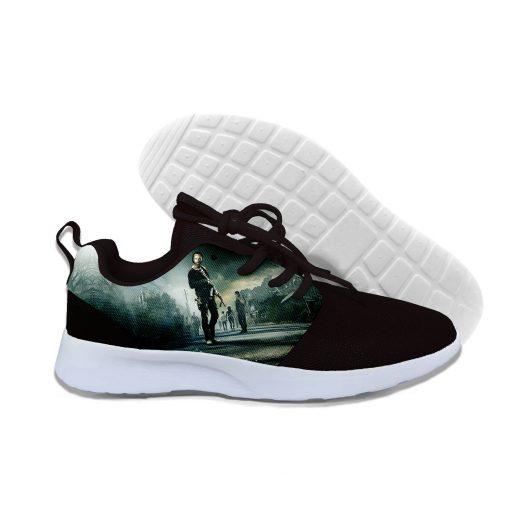 2019 hot fashion Walking Dead 3D casual shoes for men women high quality Harajuku 3D printing