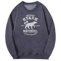 2020 Autumn Hip Hop Fashion Sweatshirt Wolf Cool Casual Fleece Warm Mens Streetwear Game Of Thrones 1
