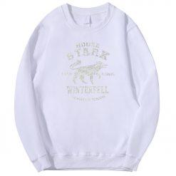2020 Autumn Hip Hop Fashion Sweatshirt Wolf Cool Casual Fleece Warm Mens Streetwear Game Of Thrones 3