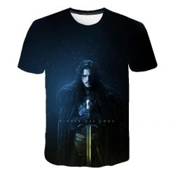 2020 Game Of Thrones Night King T Shirt 2019 New streetwear men s short sleeved T 2